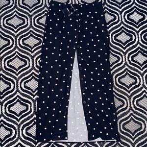 Forever 21 Polka Dot Button-Down Skirt